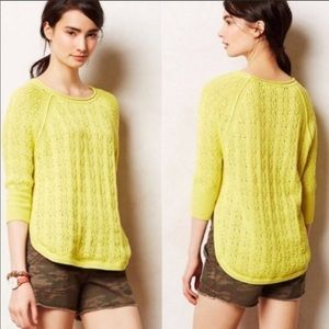 Sparrow yellow sweater